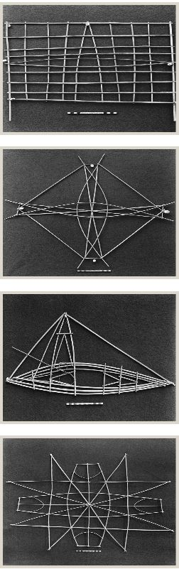 Just an idea for using wire for an art object  this is Marshall Islands navigation charts. #HCFpost