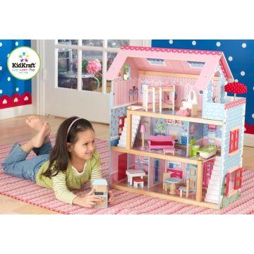 Maison de poupée Chelsea en bois - Kidkraft