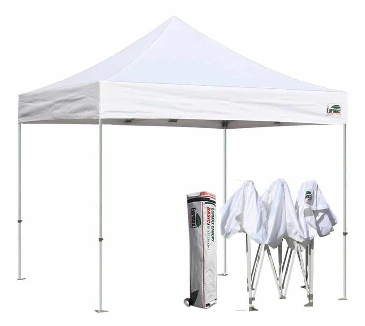 Eurmax Basic 10x10 EZ Pop-up Canopy Tent