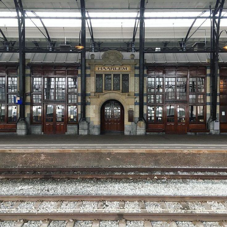 Van alle stations in Nederland is die van ons toch wel de mooiste  #haarlem #stationhaarlem #ns #haarlemcityblog