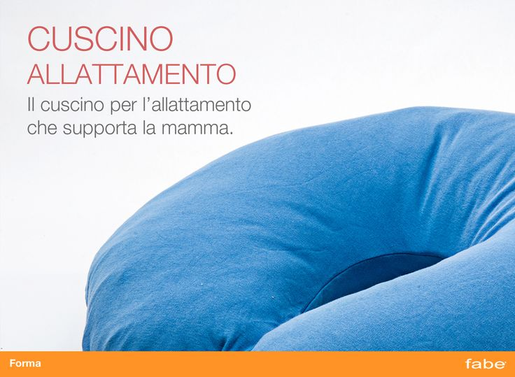 Il cuscino per l'allattamento che supporta la mamma. Durante l'allattamento garantisce la corretta posizione della poppata ed evitando che schiena, spalle, braccia e collo della mamma siano sottoposti a dolorose tensioni muscolari. #mamma #allattamento #cuscino #gravidanza