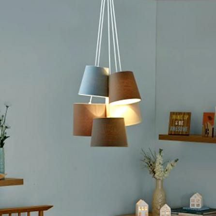 bedroom light shade 5 light shade cluster ceiling fitting dunelm 10524