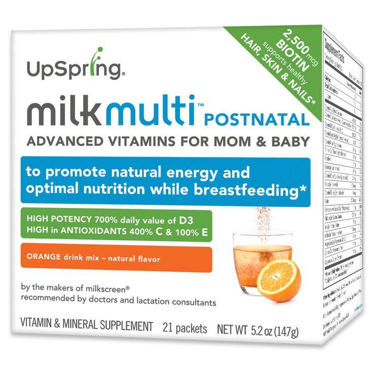 Milkmulti Advanced Postnatal Vitamin Drink Mix