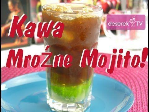 Jak zrobić Kawę Mrożoną Mojito   Deserek.TV