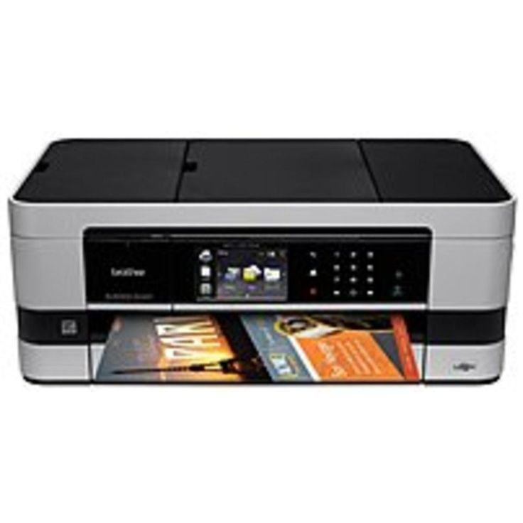 Brother Business Smart Series MFC-J4510DW Color Inkjet All-in-One Printer-Scanner-Copier-Fax - Up to 6000 x 1200 dpi - Up to 35 ppm Black, Up to 27 ppm Color - 3...