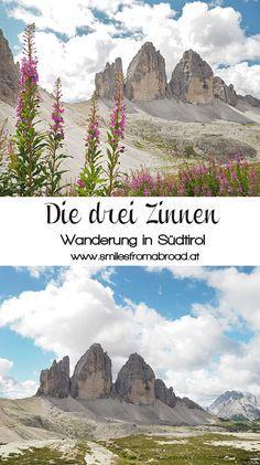 Wanderung um die drei Zinnen in den Dolomiten, Südtirol #dreizinnen #südtirol #dolomiten