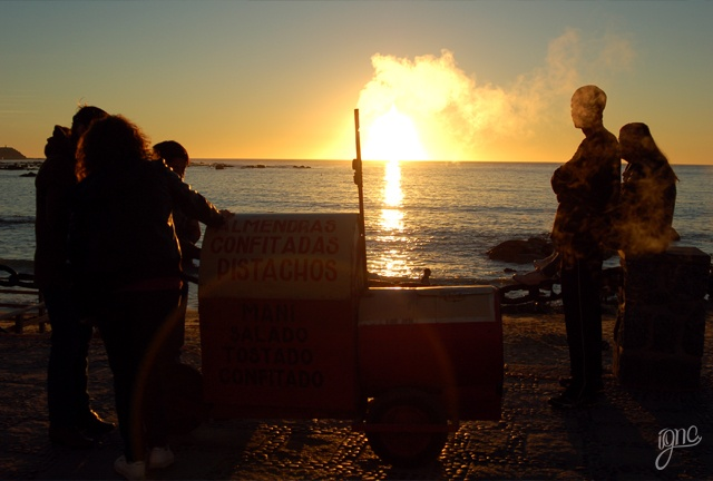 Fotografía, Algarrobo, Chile, Personas, Playa, Atardecer, Photography, People, Beach, Sunset
