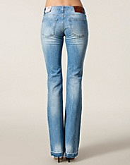 Flirt Pant - Fornarina - Denim blå - Jeans - Tøj - NELLY.COM