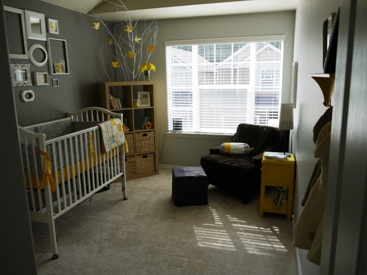 gender neutral baby room...with a modern twist.