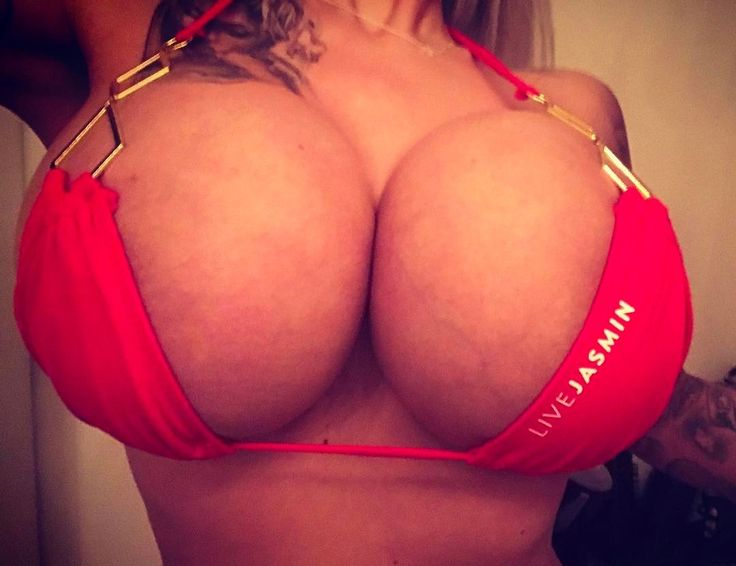 Massive 1500cc fake tits on this beautiful blonde bimbo