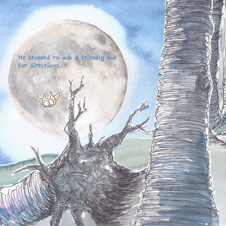 Vincent and the Vampires children's picture book about a vegetarian vampire bat who hates the sight of blood.