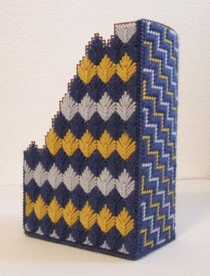 Needlepoint Magazine Holder | Ally Kraus