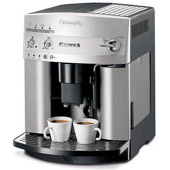 delonghi esam3300 magnifica super automatic espresso coffee machine review the edge espresso. Black Bedroom Furniture Sets. Home Design Ideas