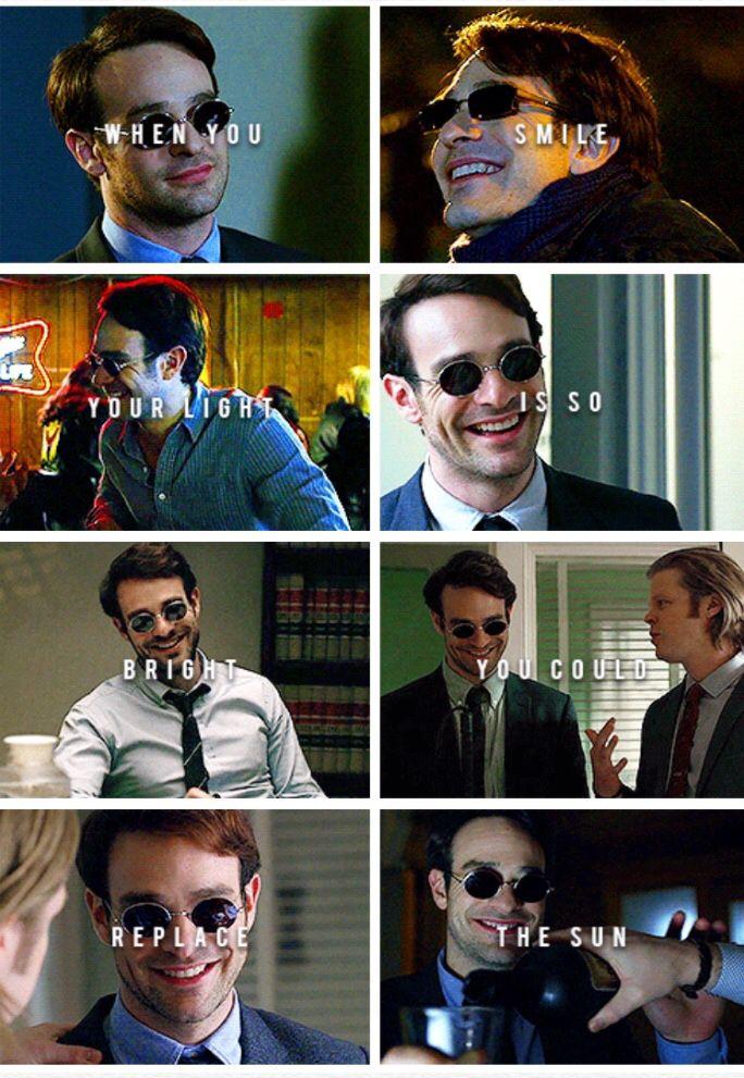 Matt Murdock smiling