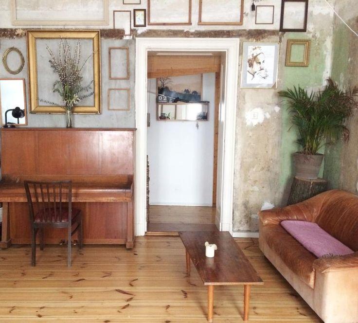 Old Look Wohnzimmer In Berlin Einrichtung Oldlook