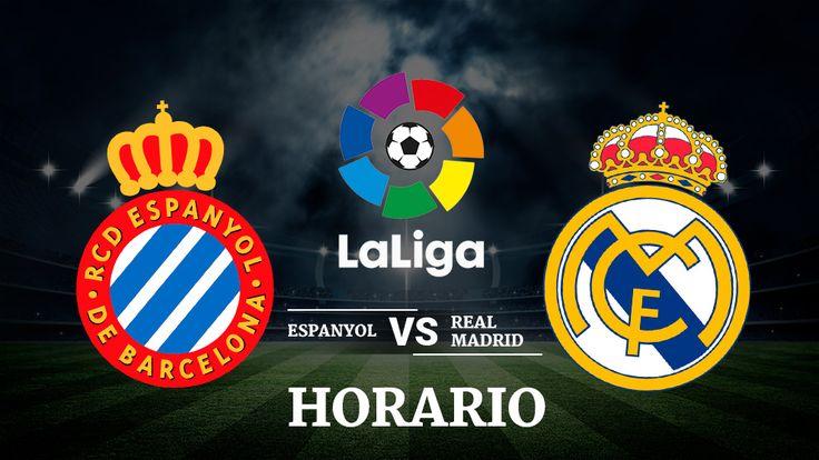 Espanyol  Real Madrid: Horario y dónde ver el partido de la Liga Santander