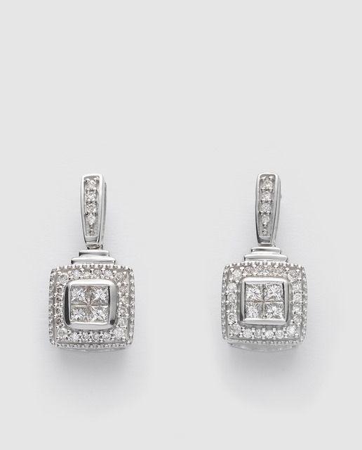 1179a6a1a66a Pendientes mujer diamantes El Corte Inglés