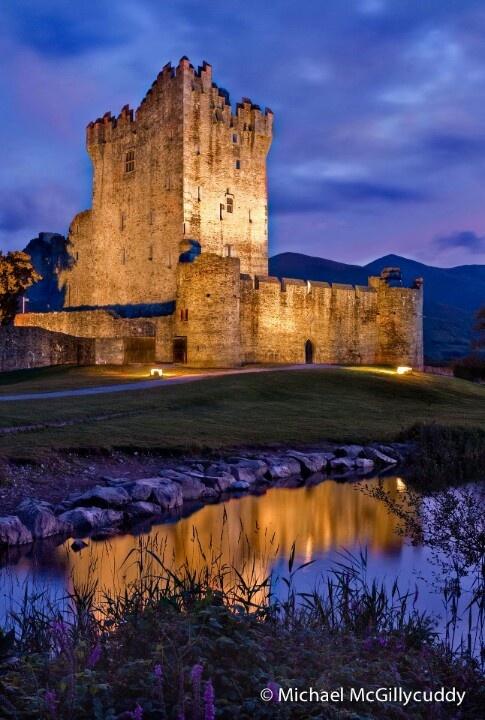 Ross Castle~Killarney Ireland photo by Michael McGillycuddy