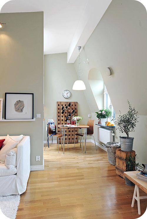 walls and floor