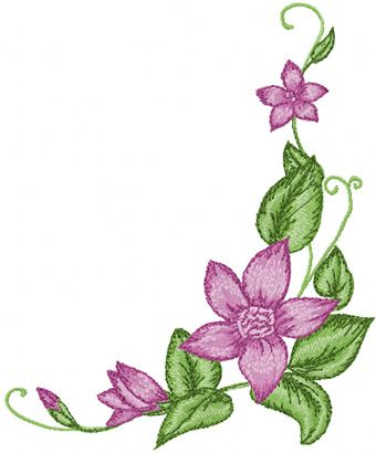 Flower Designs For Machine Embroidery Free