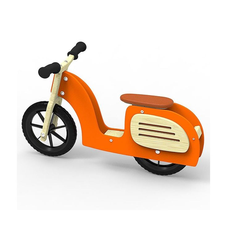 Children's balance scooter  Perfect as the first bike for a toddler to learn balancing on two wheels Solid and light, made of water resistant birch plywood Safe: complies with DIN EN 71-3 (safety of toys) DIN 53160 parts 1 and 2 (resistance to saliva and perspiration) norms