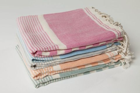 Ottoloom Biarritz Turkish Towel hand loomed with certified organic cotton | Ottoloom