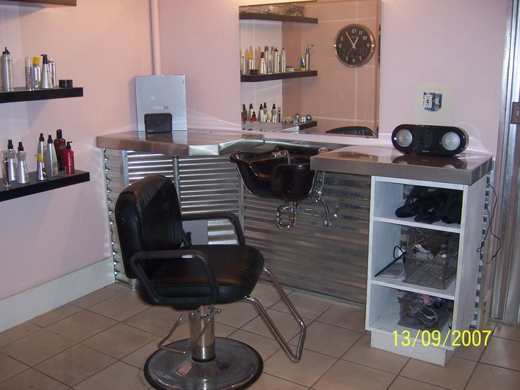 picture of house salons | this is another view of the salon laundry room