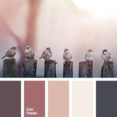"""""""dusty"""" shades of colors, brown red, burgundy, color solution for redecoration, colors of morning, colors of winter morning, dark gray, monochrome color palette, orange-pink color, palette of subtle tones,"""