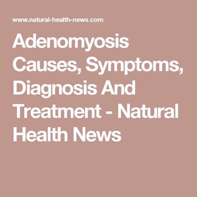 Adenomyosis Treatment Naturally