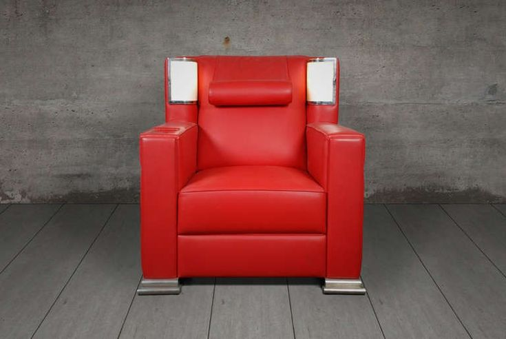 Armlehnstuhl 'Roter Sessel', Eckart Muthesius 1931