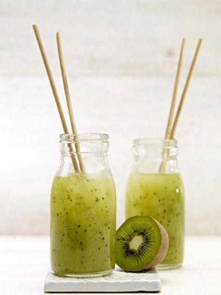 Lecker und voller Vitamine: Kiwi-Smoothies