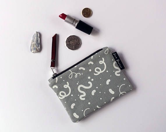 Small Sage Zipper Purse Coin Purse Pouch Purse Hand