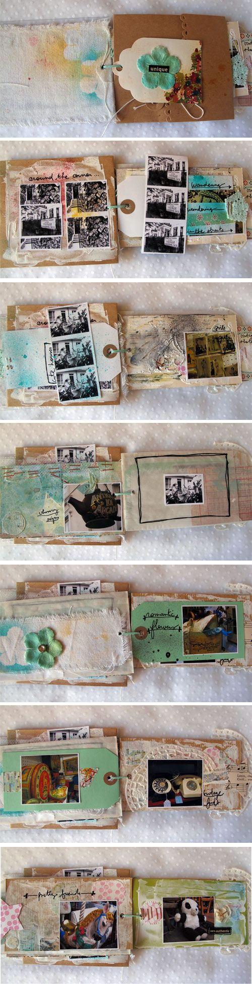 Junk Journal - @Sadey Whitlock Whitlock Whitlock Whitlock Whitlock Whitlock Vogel you Should Do This With Travel Tickets, bus passes, etc. ...