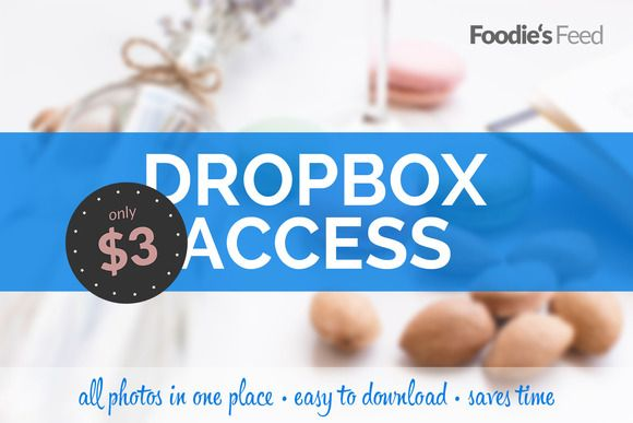 Get access to all of my photos stored on Dropbox for price of an espresso shot! For such small amount of money you can download my food pictures with ease without need to browse www.foodiesfeed.com opening one photo after another. This will save your precious time for more writing or designing and also support my work. I'll keep uploading all new pieces to the same Dropbox folder so this is a lifetime access to my photos. I am sure you too like win-win situations!