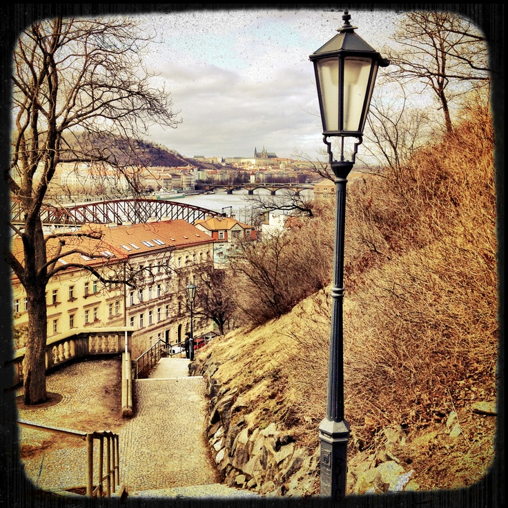 Prague from Vyšehrad...