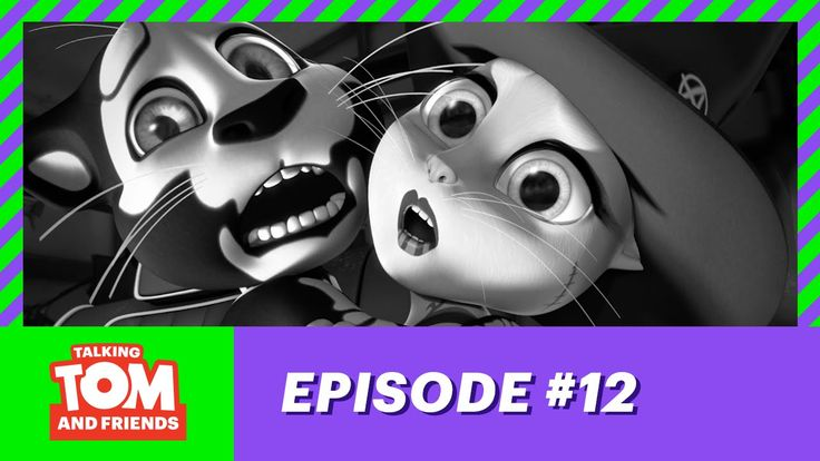 Talking Tom and Friends ep.12 - App-y Halloween!