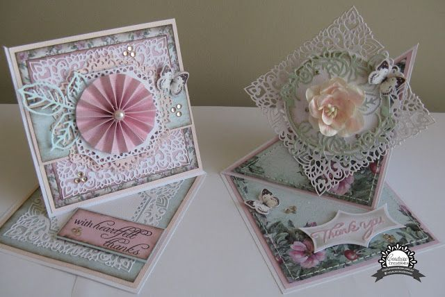Artdeco Creations Brands: Twisted Easel Cards by Jo Simons