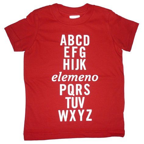 elemeno has always been my favorite letter... I want this!