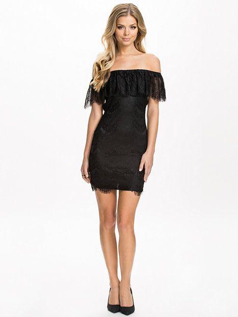 Eyelash Bodycon Dress - Club L - Black - Party Dresses - Clothing - Women - Nelly.com Uk