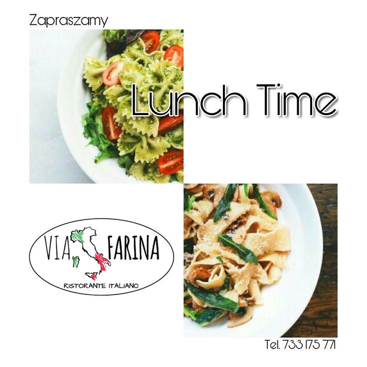 ☼ LUNCH TIME ☼  DLA KAŻDEGO COŚ SMACZNEGO :)  ☛ Wszystkie smakowite dania, znajdziecie oczywiście w naszej karcie ☛ http://www.viafarina.pl/o-nas/ ☼  ☼ Zapraszamy ☼  #restauracjawłoska #Niepołomice #i #okolice #Kraków #Wieliczka #Pizza #Italia #menu #Obiad #lunch #spaghetti #pasta #salad #sałatka #food #italianfood #goodfood #slowfood #kręgle #pysznejedzenie #zaproszenie #nawynos #dostawa #polska