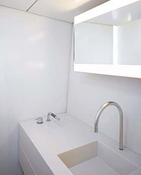 Bathroom in B60 Sloop by John Pawson and Luca Brenta. 17 Best images about Bathrooms on Pinterest   Modern luxury