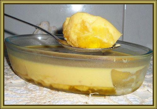 Receita de Vovó - Só receitas simples - Gelado de abacaxi cremoso