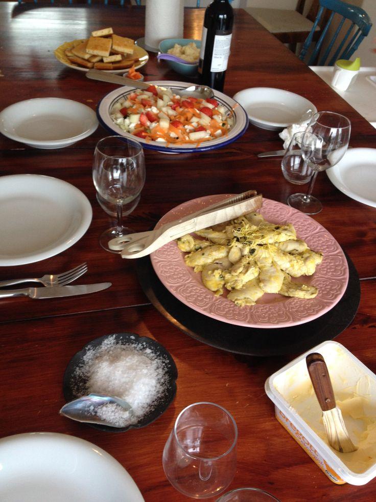 Matinspiration och recept på suupergott focaccia-bröd