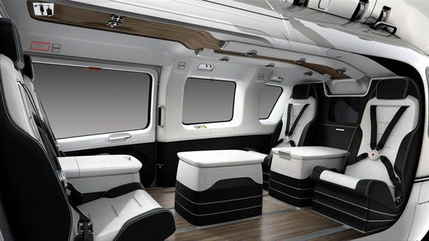 Private jets are so pass private helicopters are where for Helicoptere interieur