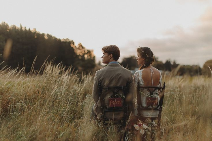 "Wild Hearts: autumn elopement ""Kimberley"" #Lace #Longsleeve #WeddingDress by @campioncouture. Image: Charlotte Sowman Photography Available online or visit us in NZ, www.carolinecampion.com"