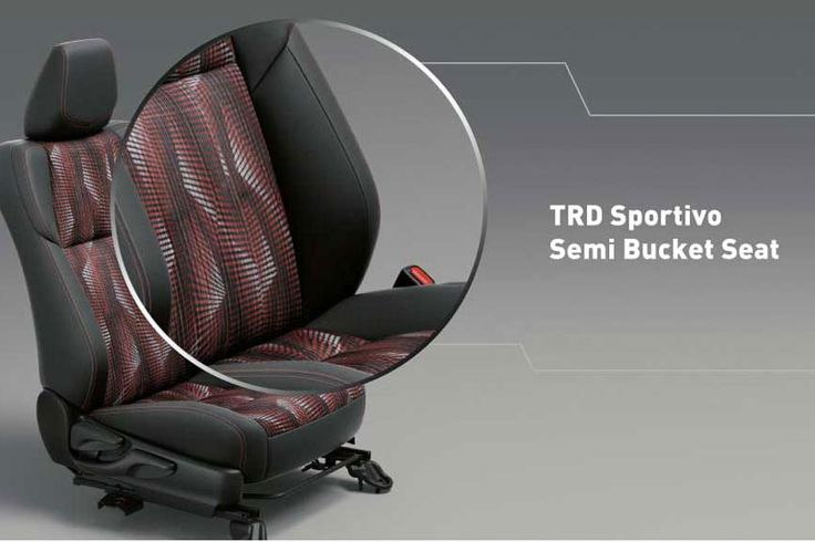 All New Yaris 1500 S TRD Semi Bucket Seat