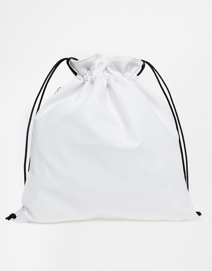 Whistles Drawstring Bag More Fashion Bags, Clothing, B Bags, Whistl Drawstring, Drawstring Backpacks, Inspiration Womenswear, Accessories, Drawstring Bags, Photo Whistles Drawstring Backpack in White