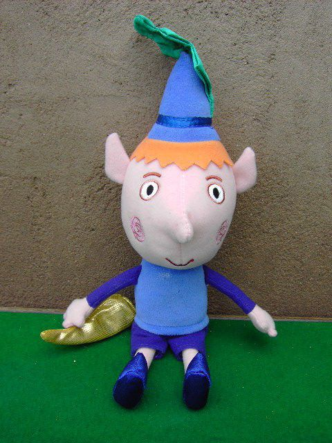 Ben and Holly Little Kingdom Talking Ben Elf Soft Toy