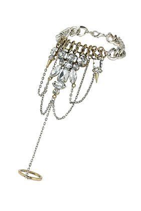 Rhinestone Handchain - Bracelets - Jewellery  - Bags & Accessories
