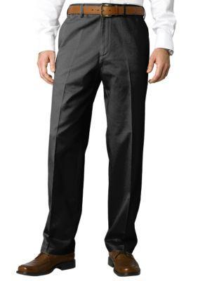 Savane  Big  Tall Performance Chino Flat Front Wrinkle-Free Pants